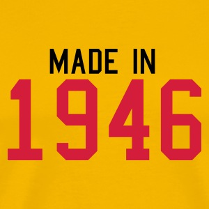 Yellow 1946 Men's Tees - Men's Premium T-Shirt