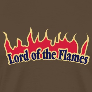 Braun Lord of the Flames © T-Shirts - Premium-T-shirt herr