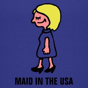 maid_in_usa_3c Shirts - Teenage Premium T-Shirt