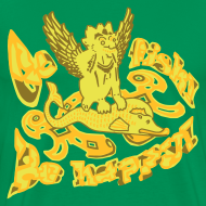 Motiv ~ Go fish! Be happy!, t-shirt