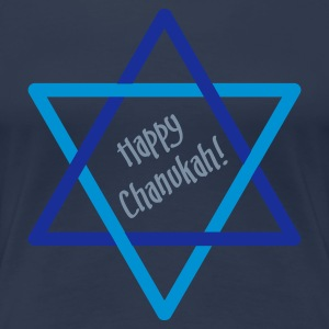 Jeans blue Happy Chanukah - Star Women's T-Shirts - Women's Premium T-Shirt