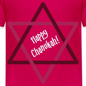 Happy Chanukah - Star Kids' Shirts - Teenage Premium T-Shirt