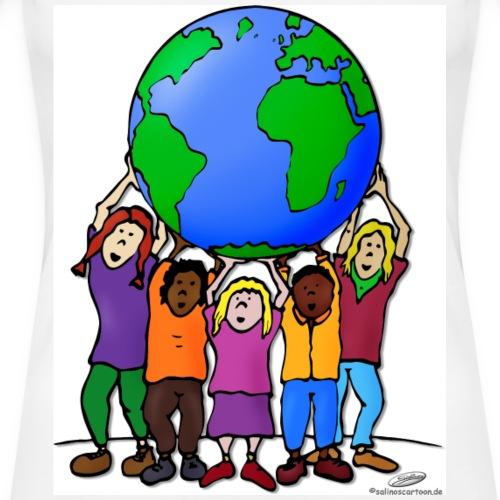 Kinder Weltkugel