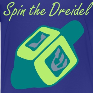 Cyan Dreidel Kids' Shirts - Teenage Premium T-Shirt