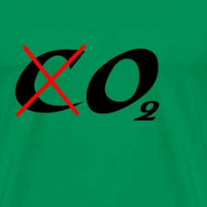 Vert mousse Not CO2 but O2 T-shirts - T-shirt Premium Homme
