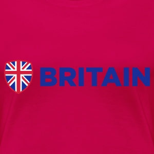 Light pink Britain Emblem Side 1 (3c, NEU) T-shirts - Dame premium T-shirt