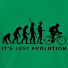 Moss green biker evolution T-Shirts