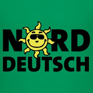 Kelly green norddeutsch_sonne_2c Kinder T-Shirts - Teenager Premium T-Shirt