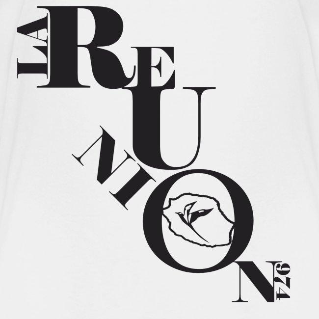 T-shirt enfant d'être réunionnais - 974 Ker Kreol