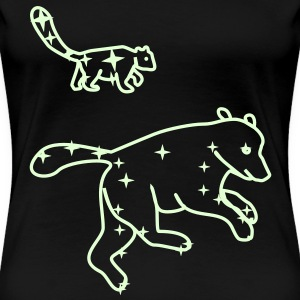 Great Bear and Little Bear - Camiseta premium mujer