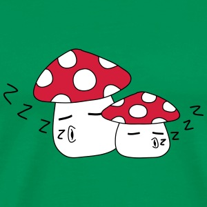 Sleeping Mushrooms Tee shirts - T-shirt Premium Homme