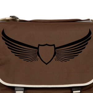 Coat of Arms Emblem Wings wings 1c Bags & backpacks - Shoulder Bag