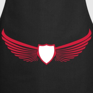 Coat of Arms Emblem Wings wing 2c  Aprons - Cooking Apron