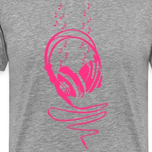 Let The Music Play T-shirts - Mannen Premium T-shirt