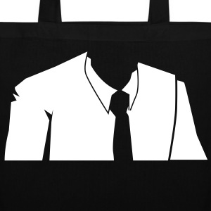 male in a suit no head Bags & backpacks - Tote Bag