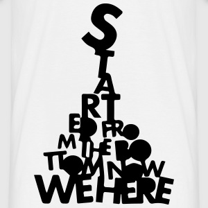 started from the bottom  - Männer T-Shirt
