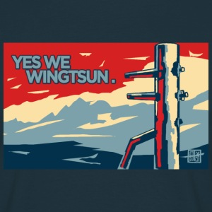 yes we wingtsun T-Shirts - Männer T-Shirt
