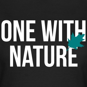 one with nature T-Shirts - Frauen T-Shirt