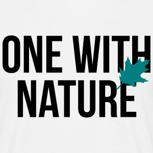 one with nature T-shirts - T-shirt herr