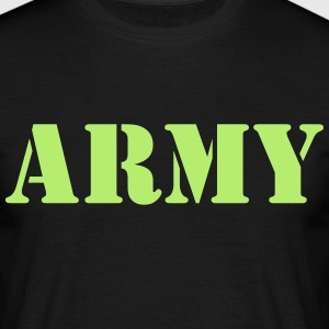 army T-shirts - Herre-T-shirt