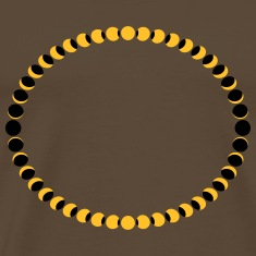 Moon Phases Circle T-Shirts