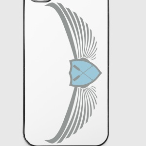 Dragon Boat Emblem Logo  crossed paddles  2c Phone & Tablet Cases - iPhone 4/4s Hard Case