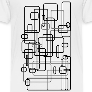 Abstract / rectangle / square / Design / Art 2c Shirts - Kids' Premium T-Shirt