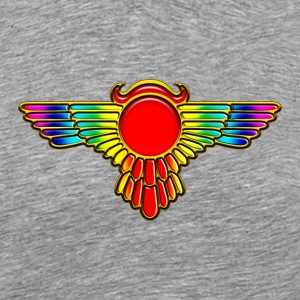 Winged Globe, symbol of the perfected soul Tee shirts - T-shirt Premium Homme