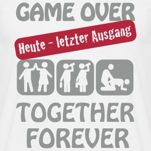 JGA - game over T-Shirts - Männer T-Shirt