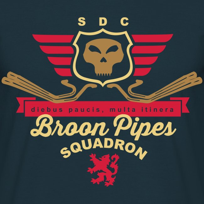 Broon pipes (navy)