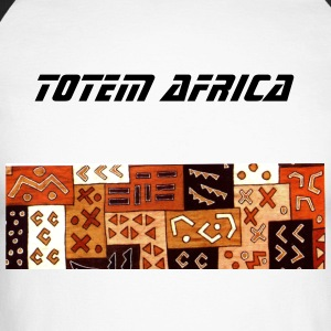 Africa Totem - T-shirt baseball manches longues Homme