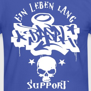 Basel Ultras Graffiti Tattoo fan Style Shirt - Männer Kontrast-T-Shirt