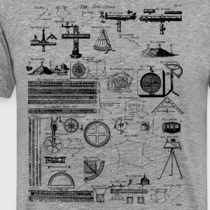 Table of Surveying T-Shirts - Men's Premium T-Shirt