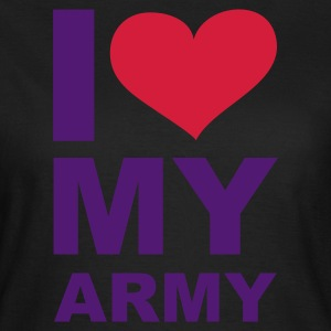 Olive I love my Army - eushirt.com T-Shirts - Frauen T-Shirt