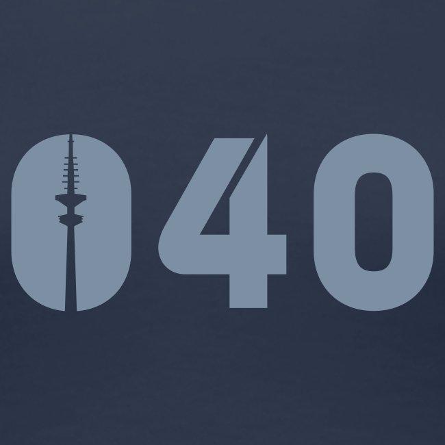 040 SHIRT SILBER-MATT