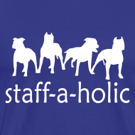 Design ~ Mens 'Staff-a-holic' T-Shirt