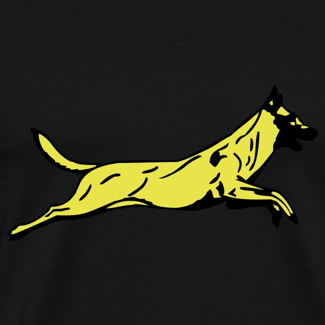 Mens Jumping Dog T-shirt