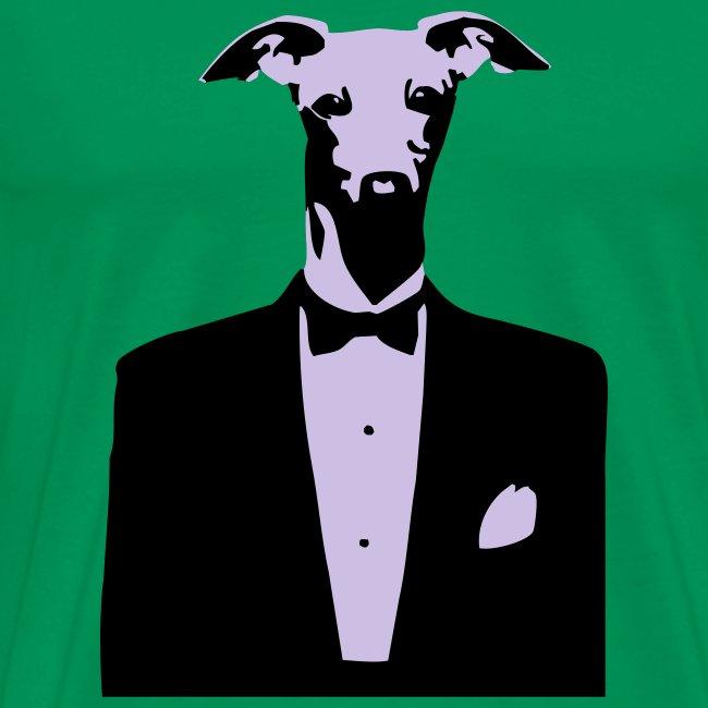 Mens Dog Tuxedo T-shirt