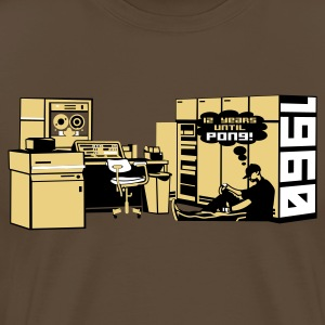 Brown pong1960 Men's T-Shirts - Men's Premium T-Shirt