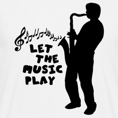 Sand let_the_music_play_1C T-Shirts