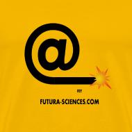 Motif ~ Arobase  etincelle jaune