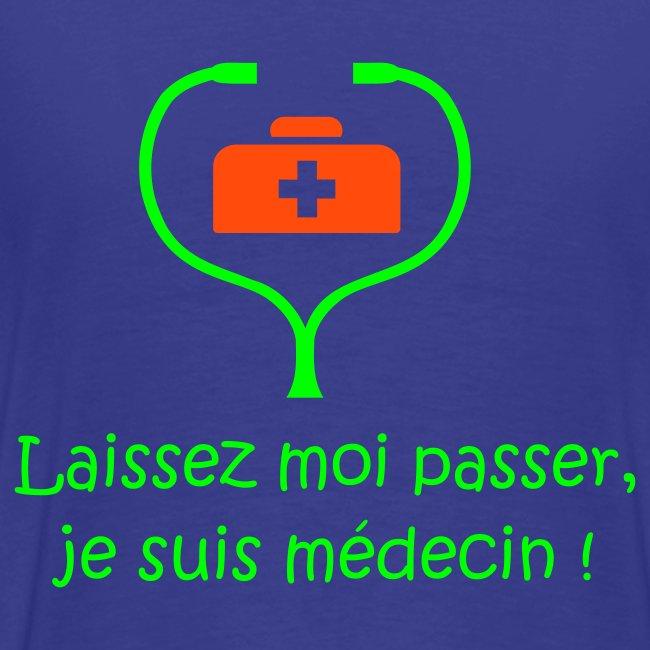 LE t-shirt des étudiants de médecine (version homme)