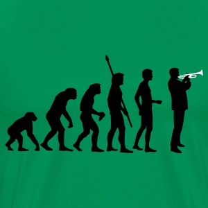 evolution_trompeter_2c T-Shirts - Men's Premium T-Shirt