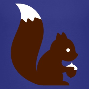 Cyan squirrel eichhörnchen Kids' Shirts - Teenage Premium T-Shirt