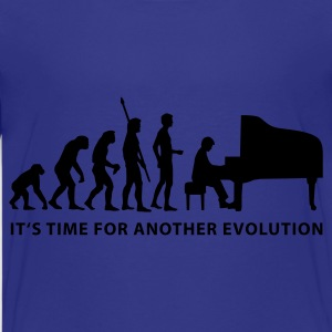 evolution_pianist_b Skjorter - Premium T-skjorte for tenåringer