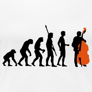 evolution_bass_2c T-Shirts - Women's Premium T-Shirt