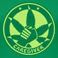 Motiv ~ Grünes Caregiver Girlie-Shirt