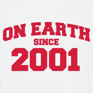 Sand on earth 2001 T-Shirts - Männer T-Shirt