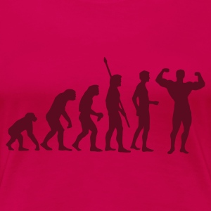 Pink evolution_bodybuilding T-Shirts - Frauen Premium T-Shirt