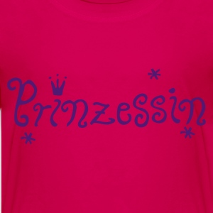 Pink Prinzessin Kinder T-Shirts - Teenager Premium T-Shirt